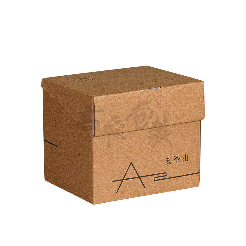 FSC Custom Recycle Brown Corrugated Carton Packaging Box