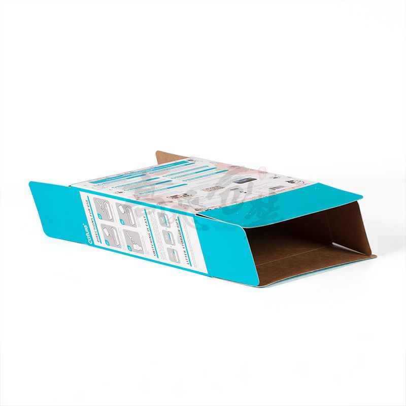 Custom Printing 5-Ply Colored Corrugated Sheet Paper Corrugated Color Box