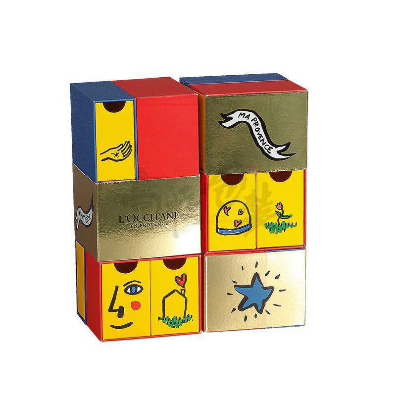 Luxury Wholesale Cardboard Gift Drawer Box Christmas Make Up Hot Sale Custom Paper Gift Color Fashion Box