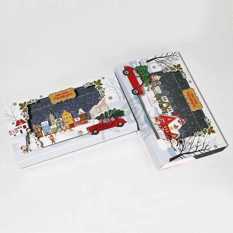 Custom Happy Merry Christmas Greeting Wedding Thanks Business Card Costume