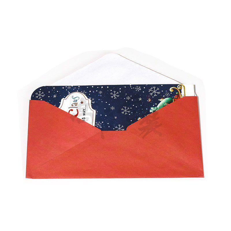 Oem 3d Artificial Handmade Christmas Paper Greeting Cards Bulk Designs