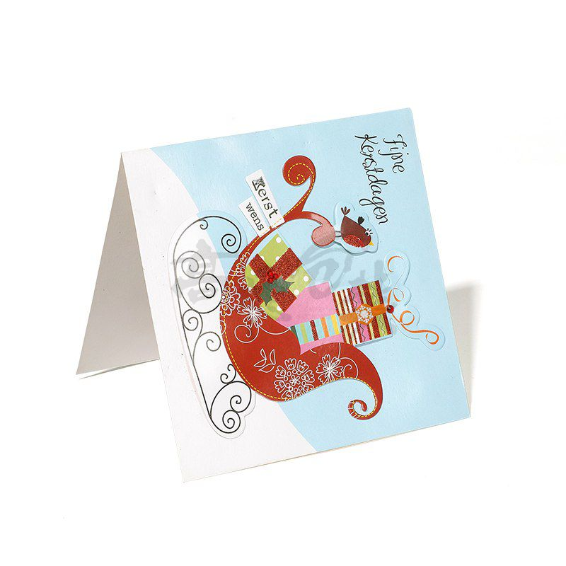 Custom Luxurious Acrylic Wedding Thank You Invitation Cards With Envelopes for Shopping Card