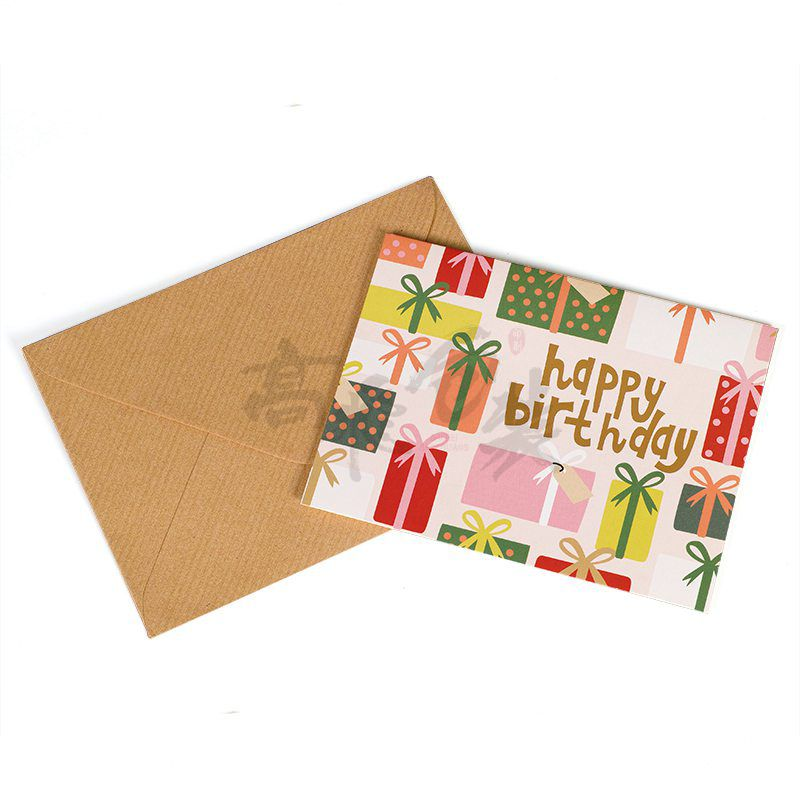 Eco Friendly Assorted Greeting Birthday Christmas Different Shapes Custom Printed Playing Cards