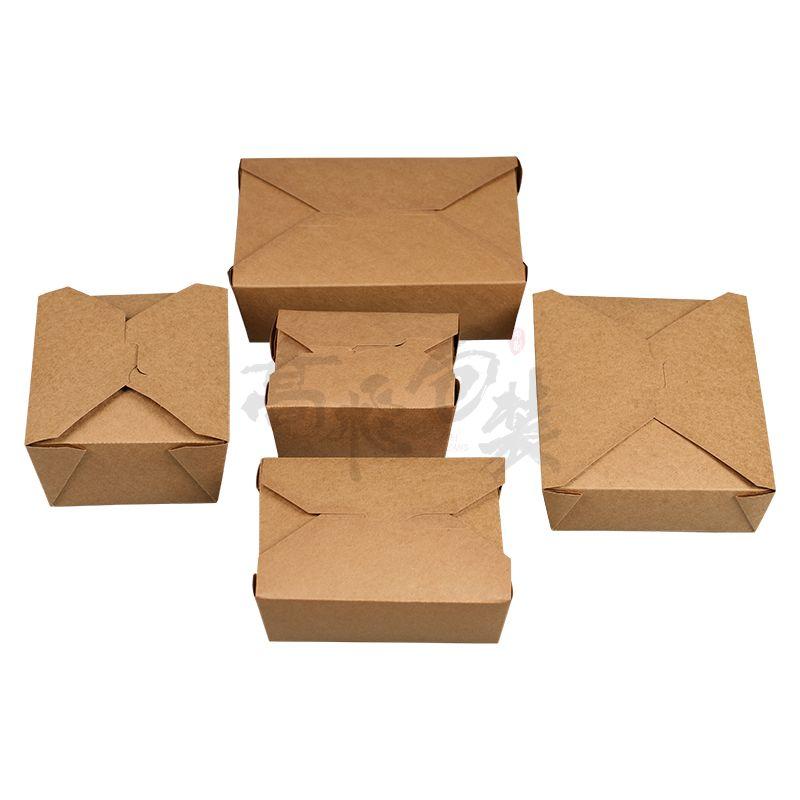 Factory Best Price Custom Paper Take Away Food Packing Box