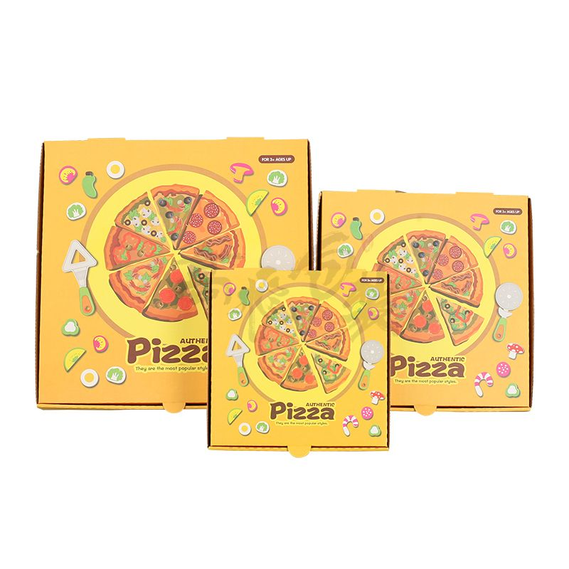 Eco friendly craft paper box for pizza
