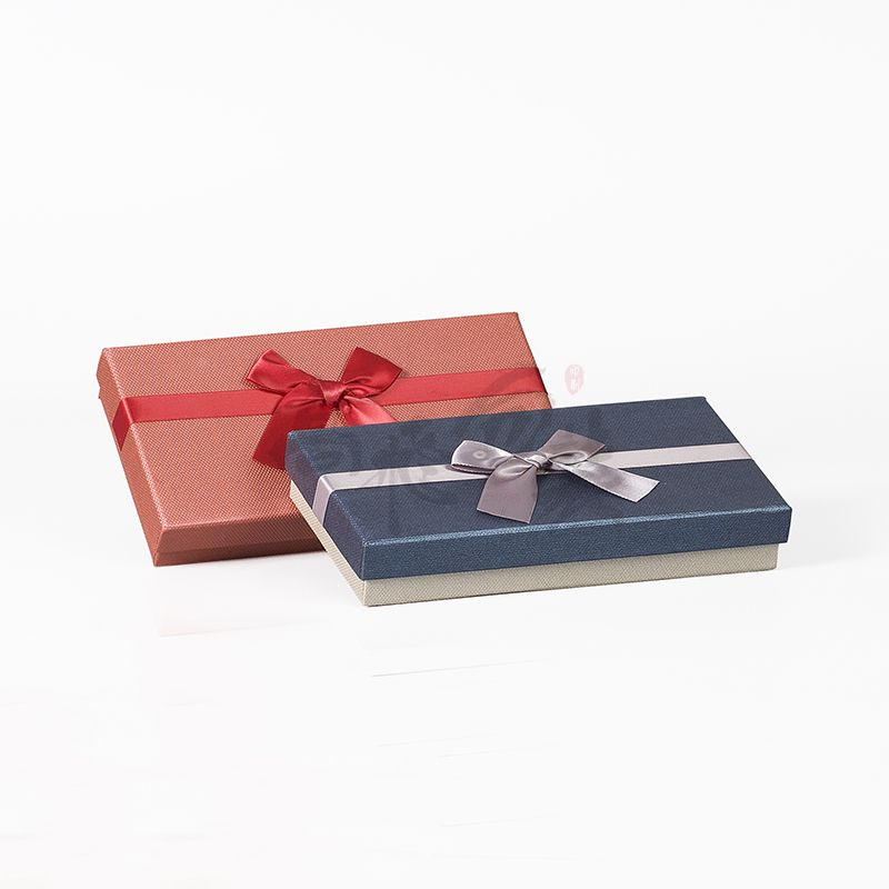 oem service recyclable gift paper box for gift with your logo