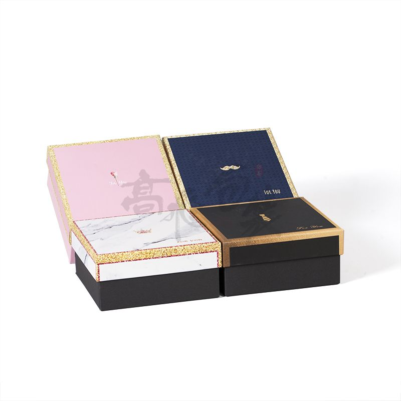 oem service recyclable gift paper box with your logo for tie