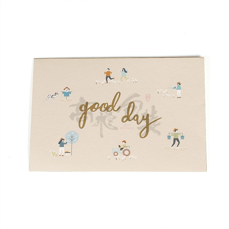 Eco Friendly Wholesale Happy Birthday Invitation Greeting Gift Cards Box Set For Kids