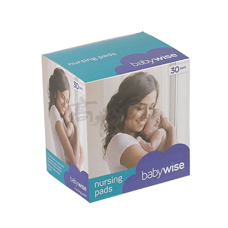 baby feeding bottle box transparent baby products shower packaging box