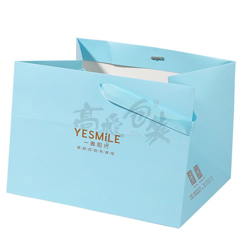 Big Gift Christmas Paper Packaging Bags In Bulk With Logos