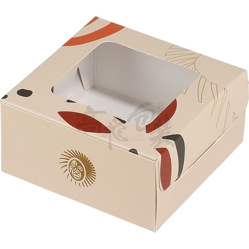 custom kraft 11 inch 4 in 12 inches window cake packaging gift box luxury