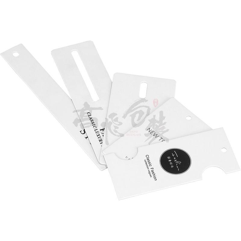 Custom Swing Hang Tags New China Label Designs Clothing Garment Pant Logo Tag