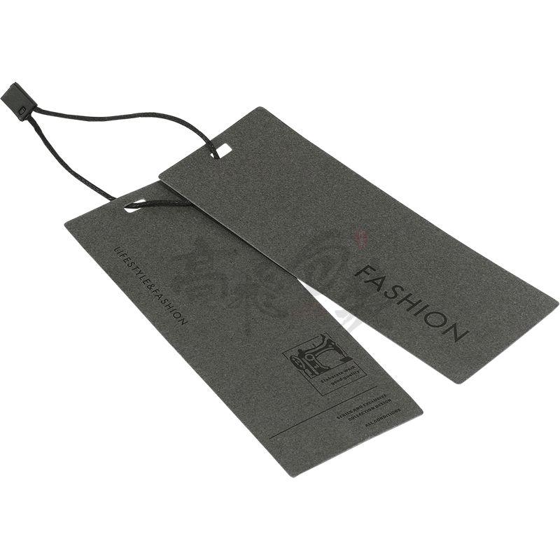 Customized Good Price Cardboard Paper Hangtag For Garment