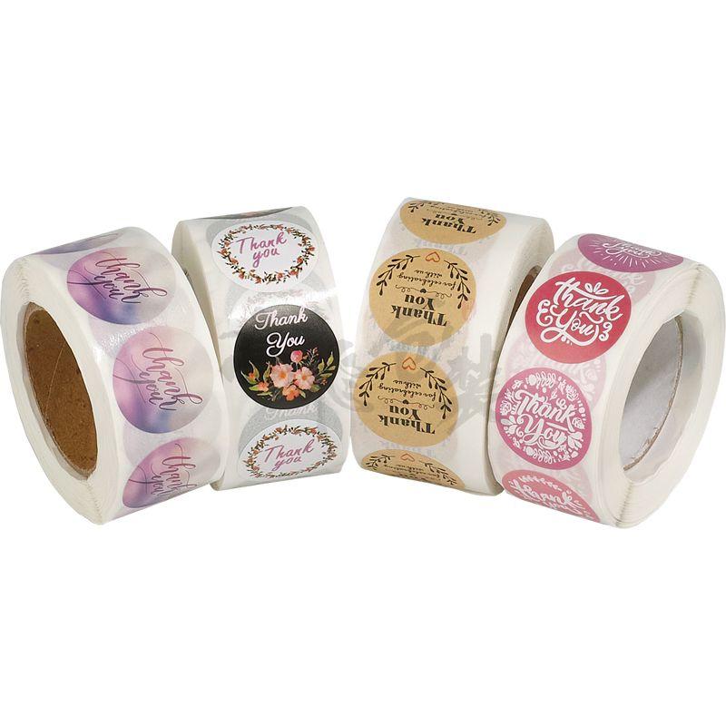 custom stickers round sitcker label wth laser sticker roll sticker permanent adhesive stiker